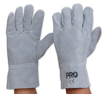 Pro Choice Grey Leather Glove 7407