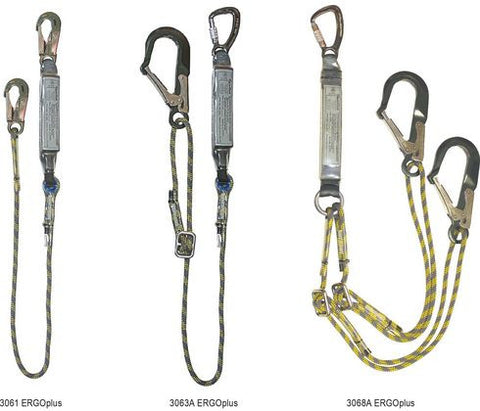 Spanset ERGOplus Rope Lanyards