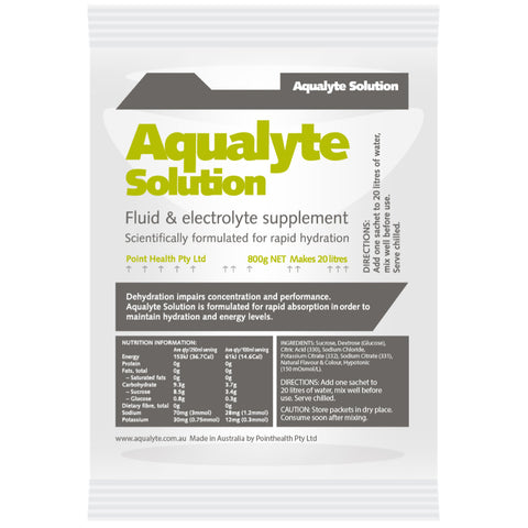 Aqualyte Lemon/Lime 800g Sachets