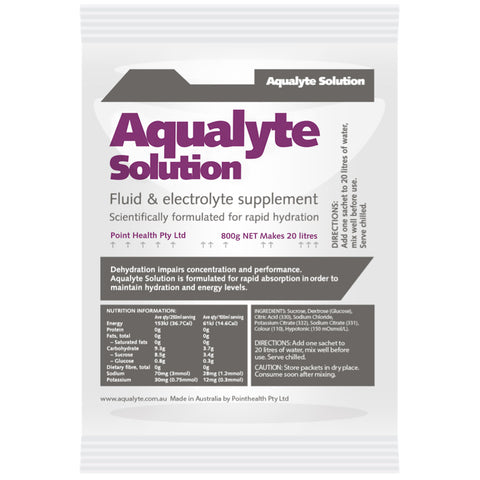 Aqualyte Berry 800g Sachets