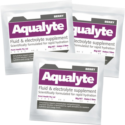 Aqualyte Berry 80g Sachets