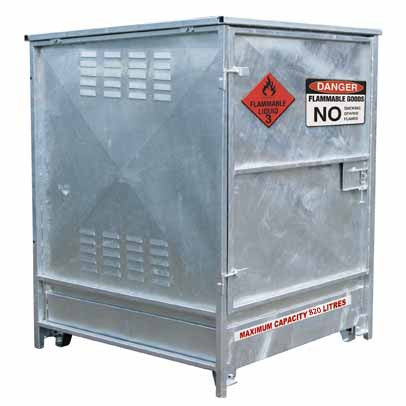 820L MAXBund-Metal Dangerous Goods Storage #MBDGS-082