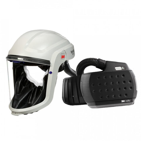 3M™ M-Series Face Shield M-207 with Adflo PAPR Heavy Duty Respirator 890207HD