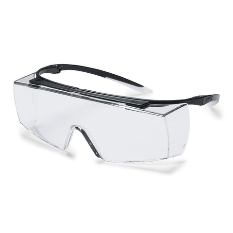 Uvex Super F OTG Spectacles PC Lens Clear 9169-945