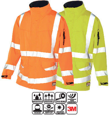 Huski - Forge Hi-Visibility Waterproof Jacket #918107