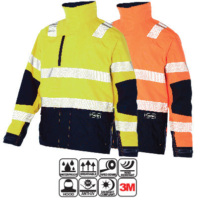 Huski - Shield Hi-Visibility Waterproof Jacket #918108