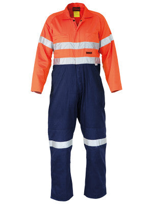 Bisley Indura Ultra Soft Fire Retardant Coverall 3M FR Reflective Tape