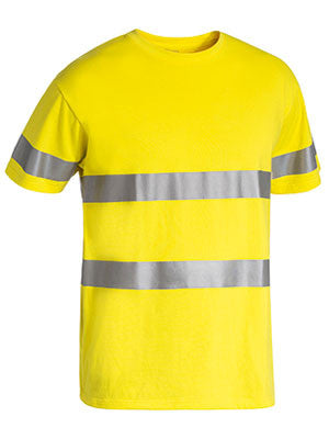 Bisley 3M Taped Hi Vis Cotton T-Shirt #BK1017T