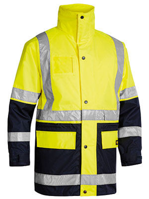 Bisley 5 In 1 Rain Jacket #BK6975
