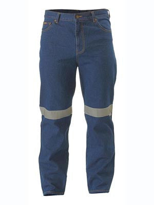 Bisley Rough Rider Jeans c/w 3M Reflective Tape #BP6050T