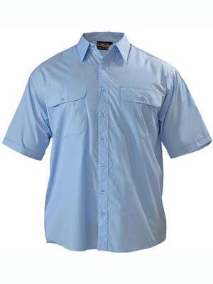 Bisley Permanent Press Short Sleeve Shirt