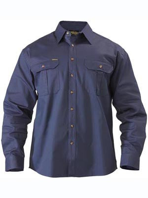 Bisley Original Cotton Drill Long Sleeve Shirt BS6433