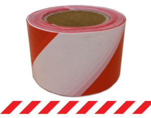 Barrier Tape Red/White 100m x 75mm (Red/White) BTRW100X75