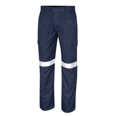 Bool Trousers Cargo Parvotex®Inherent Fire Retardant c/w Loxy®FR Bio-Motion Tape # BW1560T