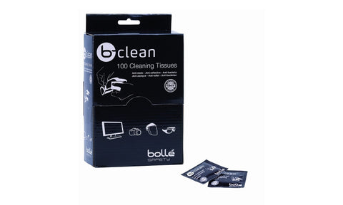 Bolle B-Clean Wipes (Box 100) # 1651100