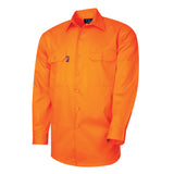 Tru Workwear Lightweight 2 Tone Hi Vis Shirt # DS1118