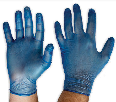 Pro Choice Blue Vinyl Gloves DVB