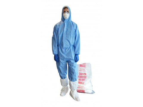 Pro Val ECO SMS Disposable Coveralls (Blue) XL