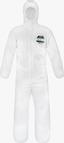 Lakeland SafeGard 76 Disposable Type 5-6 Coverall (White) SMMS428WE