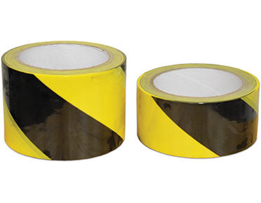 Floor Marking Tape (Yellow/Black) 48mm x 22mm TAPEFMYB48-22