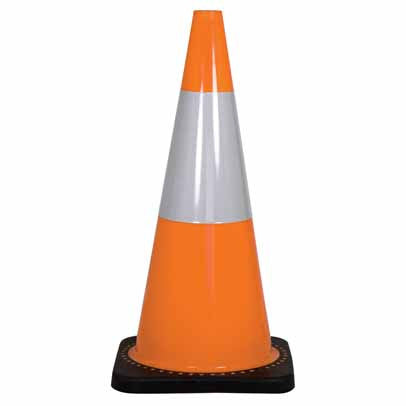 Traffic Cone Reflective Orange (Various Sizes)