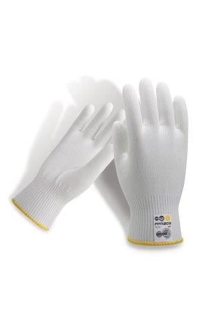 Force360 Cut 5 White Food Grade 13 gauge Glove GFPR203