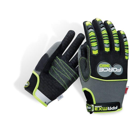 Force360 Armour Mechanics Gloves #GFPRMX3