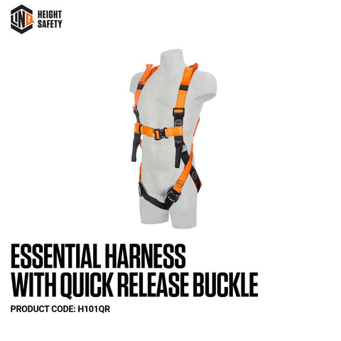 LINQ  Essential Harness Quick Release Padded Buckles M-L # H101QR