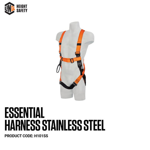 LINQ Essential Harness Stainless Steel (M - L)  # H101SS