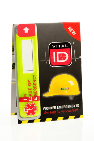 VITAL ID WORKER ICE TAG WSID-02