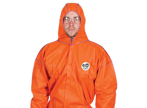 Force360 Defender Type 5 & 6 Coverall Disposable (Orange) CFPR181