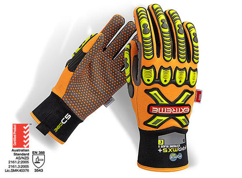 Force 360 Extreme 360º BLADE 5 Mechanics Glove #GFPRMX5+