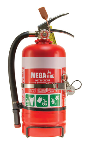 2.5kg ABE Fire Extinguisher c/w Vehicle Bracket #MF25ABE
