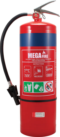 9.0L AFFF Fire Extinguisher c/w Wall Hook MF9LAFFF
