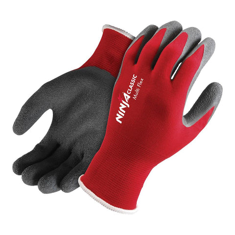 Ninja Flex Work Gloves Red #NIMLTFLEX