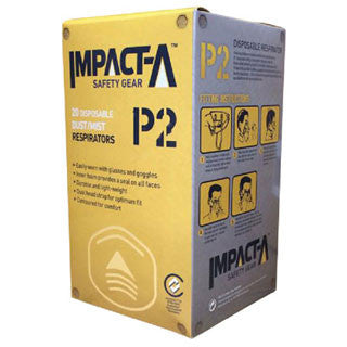 IMPACT-A P2 Dust Mask Without Valve (Box 20)