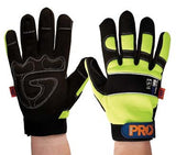 Pro Choice ProFit Full Finger Glove Hi Vis Yellow