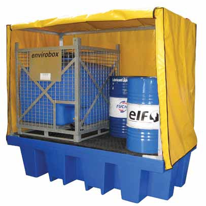Double IBC Cover & Frame