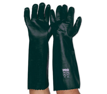 Pro Choice Green PVC Glove Long PVC45DD