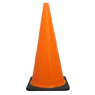 Traffic Cone Plain Orange (All sizes)