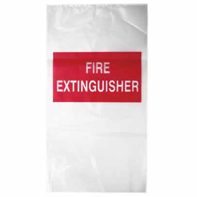 Plastic Fire Extinguisher Covers Visual Workwear