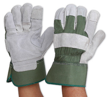 Pro Choice Green Leather Glove R99KG