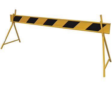 Road Sign Reflective Barrier Boards (Yellow/Black)  2.5m RS-BBYB-C1