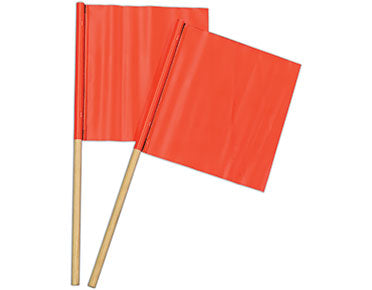 Roadwork Traffic Signal Flags (All Sizes) Orange