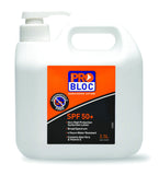 ProBloc SPF 50 Sunscreen 2 1/2L Pump Bottle SS25-50