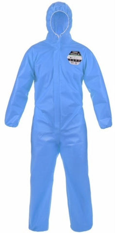 Lakeland SafeGard ES428 76 Disposable Type 5-6 Coverall (Blue)