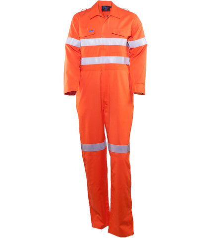 Bool Coveralls Parvotex® Inherent Fire Retardant with Loxy® FR Reflective Tape # BW1570T1
