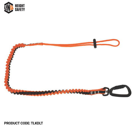 LINQ Tool Lanyard c/w Double Action Karabiner To Loop Tail # TLKDLT