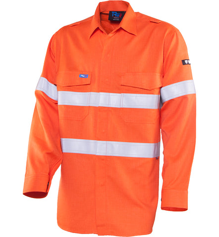 Tru Workwear - Shirt	Parvotex® Inherent Fire Retardant L/S with Loxy®	FR Reflective Tape #TS1500T1