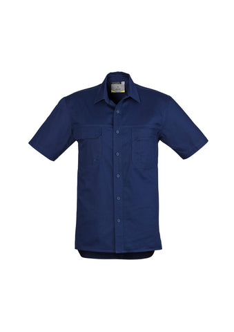 Syzmik Mens Light Weight Tradie Shirt - Short Sleeve
